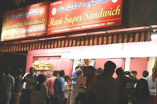 Hari Super Sandwich, Jayanagar-min
