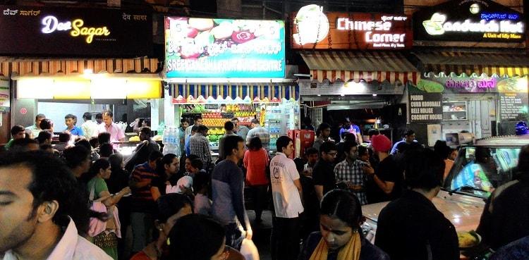 V V Puram Food Street